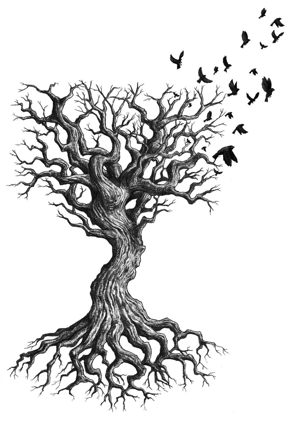 8 Nice Tree Tattoo Designs And Ideas For Men