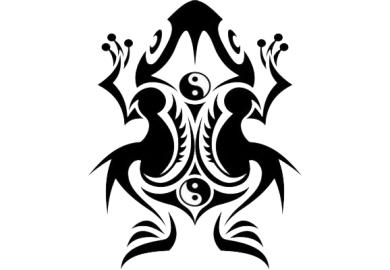 Tribal Dolphin Tattoo Designs