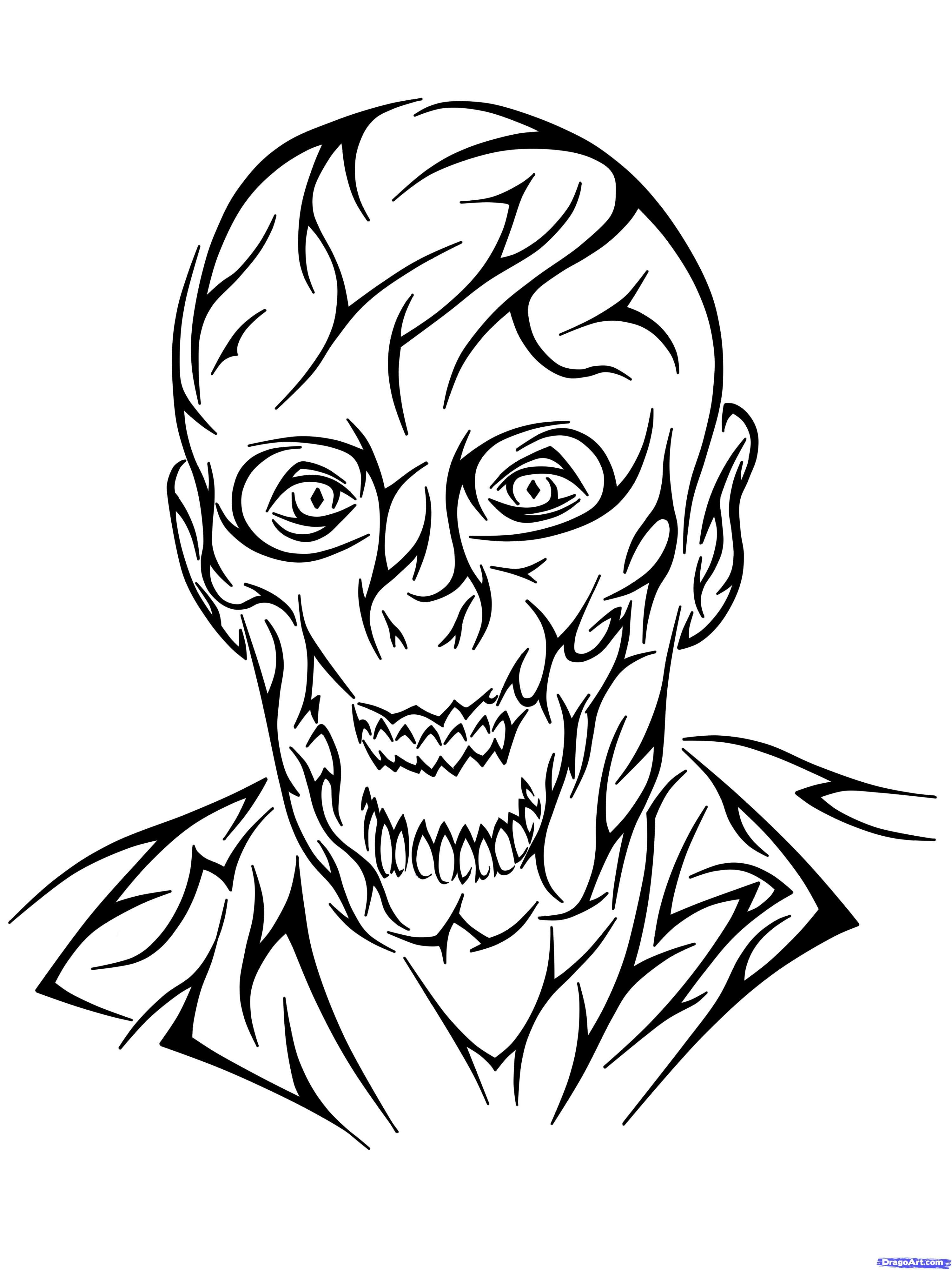 3 Zombie Tattoo Designs Ideas
