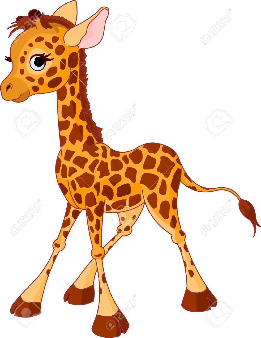 hight resolution of giraffe clipart image