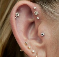 Triple Forward Helix Ear Piercing | www.pixshark.com ...