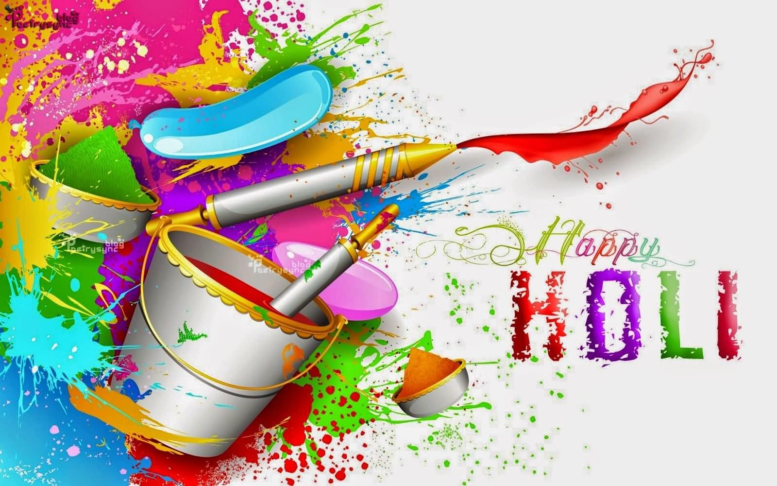 Holi 3d Wallpaper Name Happy Holi Colorful Hd Wallpaper