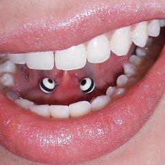 Web Tongue Piercing Diagram Shure Sm57 Wiring Black Barbell Horizontal