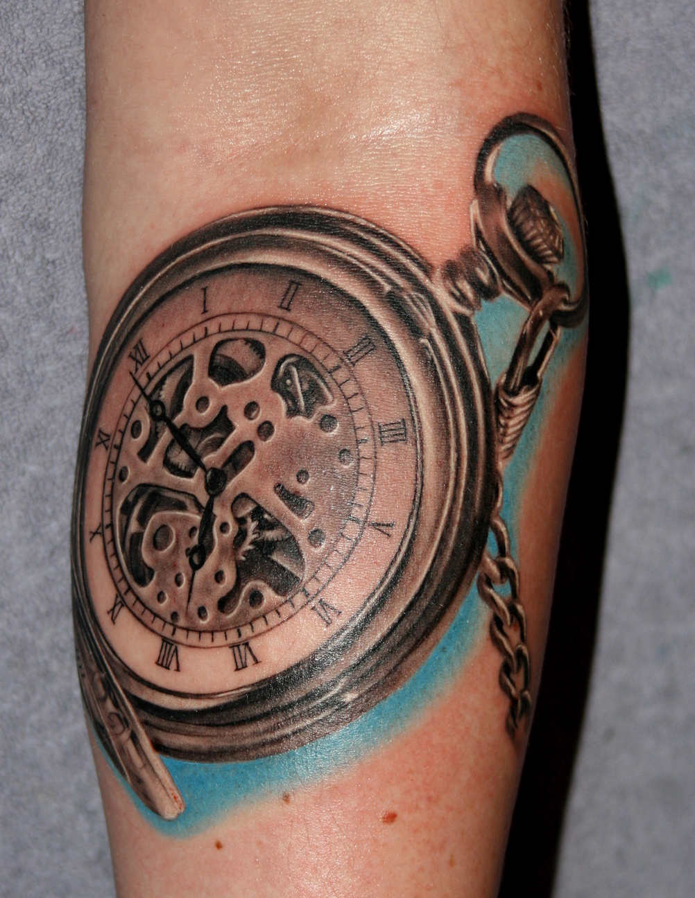 Golden Watch Tattoo