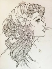 latest gypsy tattoo design