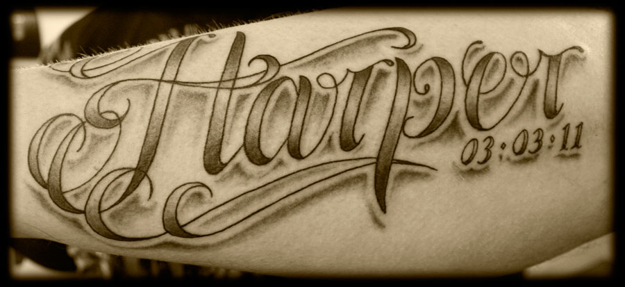 22 Lettering Tattoo Images Pictures And Design Ideas