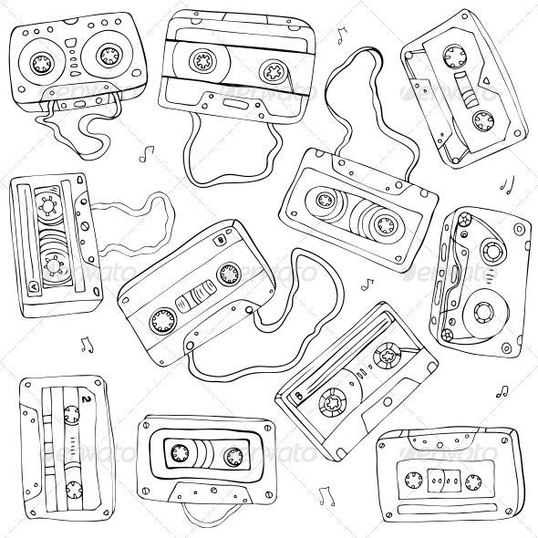 8 Cassette Tattoo Designs And Ideas