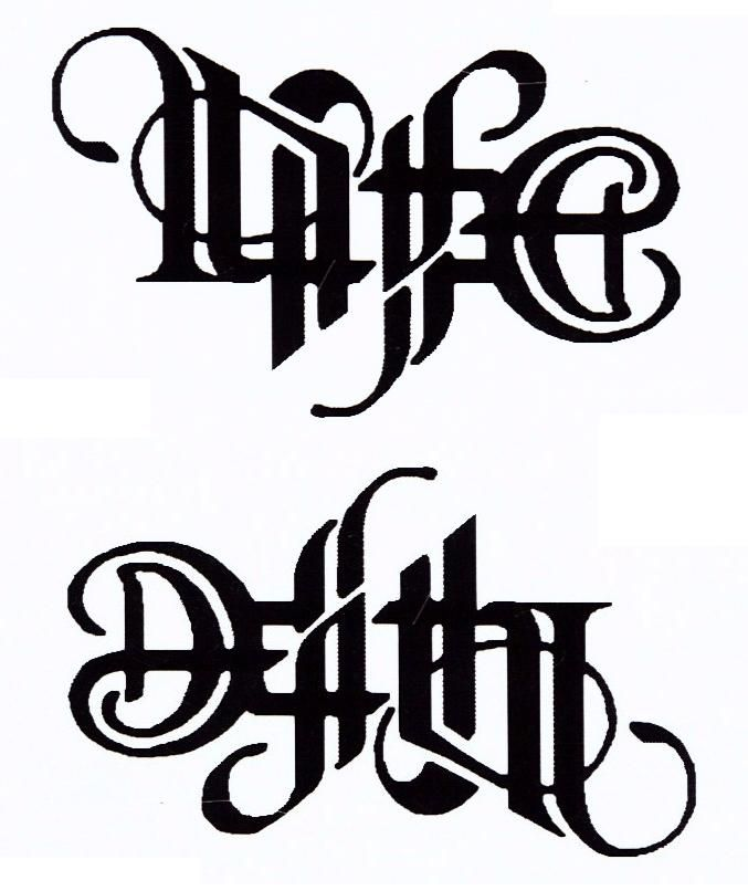 15+ Ambigram Designs, Images And Pictures Ideas
