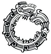 unique aztec tattoo design