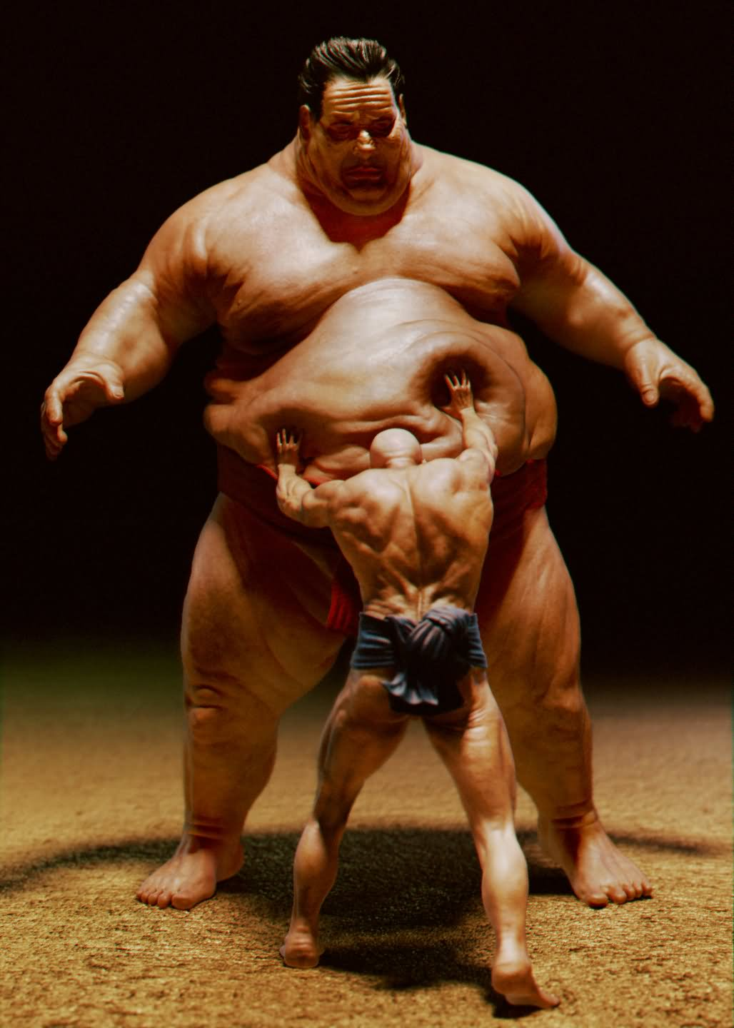 Funny Sumo Cup Picture