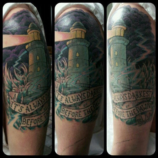a72516b00 20+ Tattoo Compass Lighthouse Palm Trees Pictures and Ideas on Meta ...