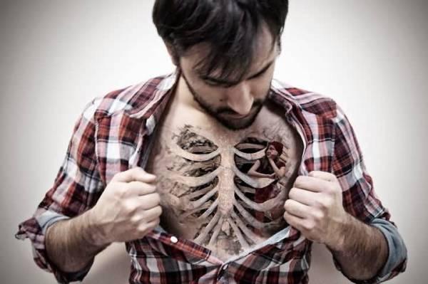 unique bone tattoos
