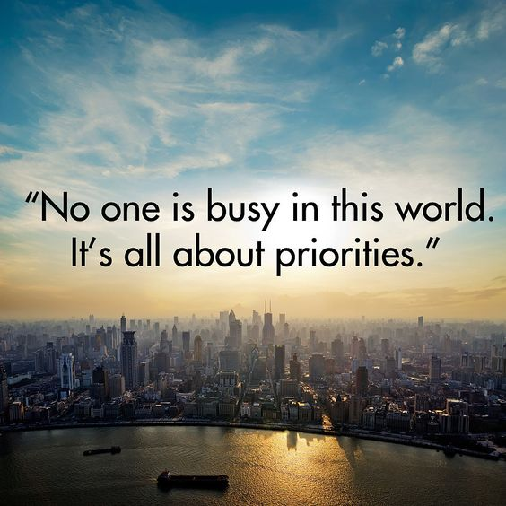 no one is busy