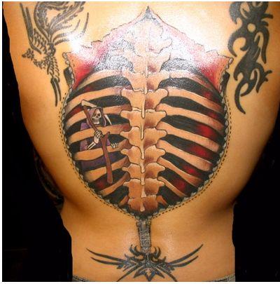 bone tattoo ideas