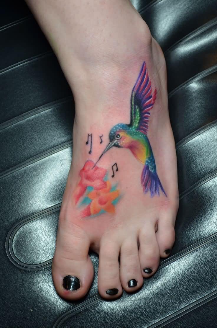Hummingbird Tattoo Designs For Women