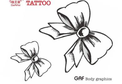 Pictures Of Bow Tattoo Designs