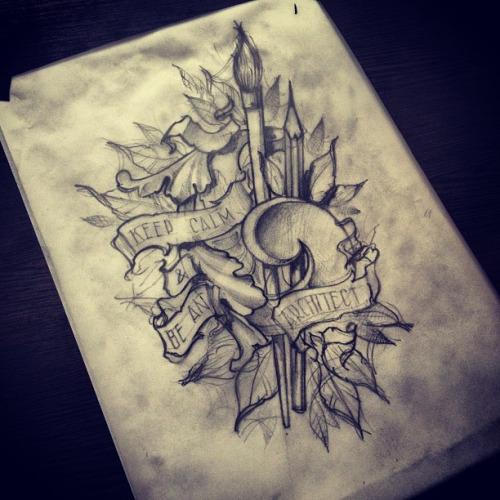 9 Amazing Pencil Tattoo Designs