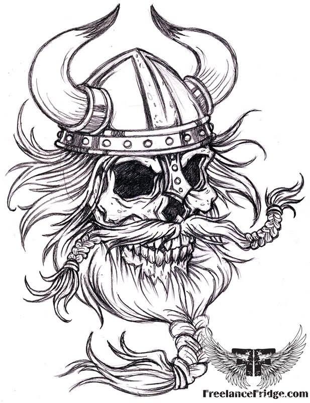 White Beard Logo