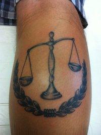 31+ Beautiful Justice Scale Tattoos