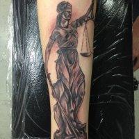 40+ Incredible Justice Tattoos