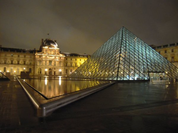 Glass Pyramid Louvre Museum