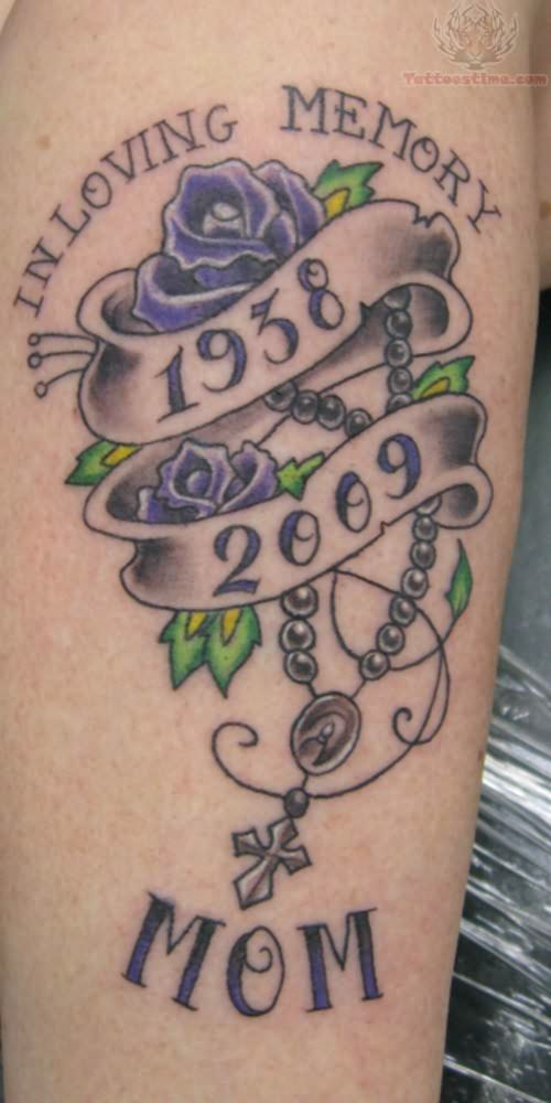 20 In Loving Memory Rose Tattoos Ideas And Designs