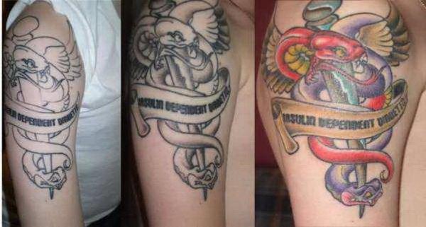 medical symbol tattoos
