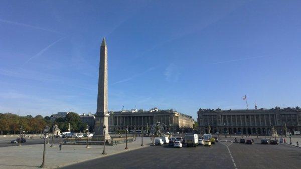 Incredible Place De La Concorde Obelisk