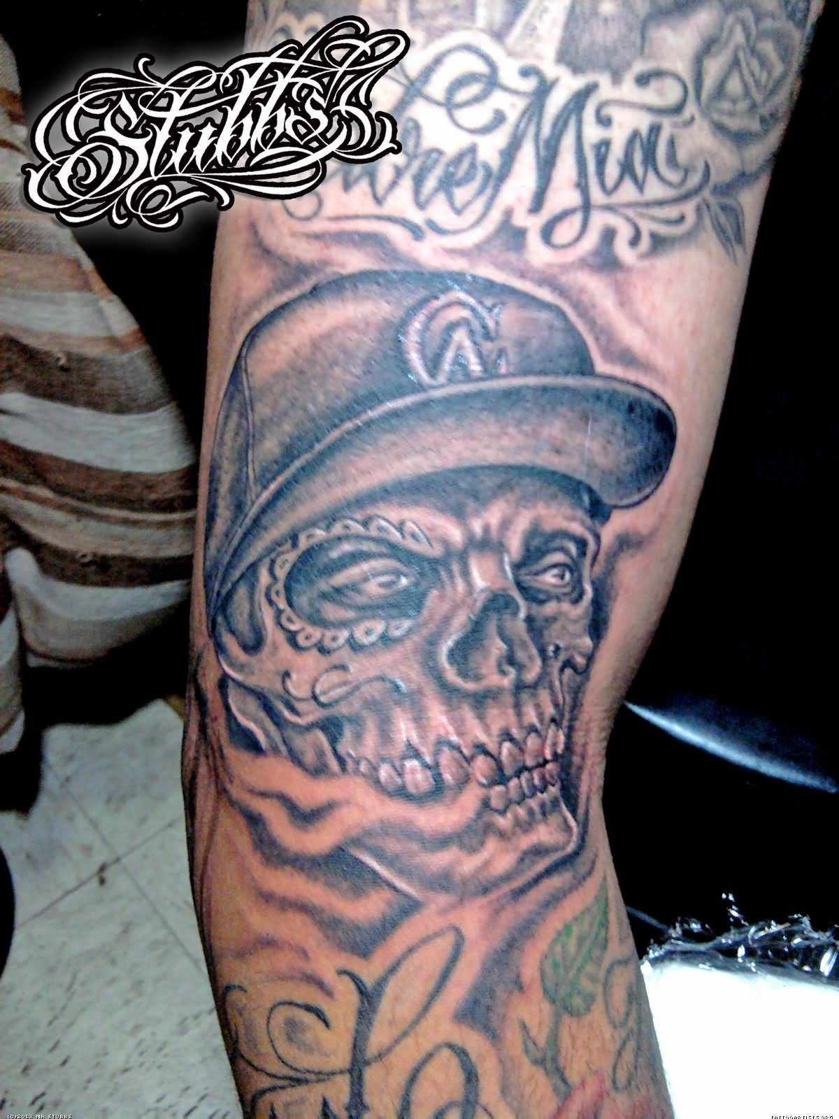 Gangster Loyalty Tattoo Designs For Men