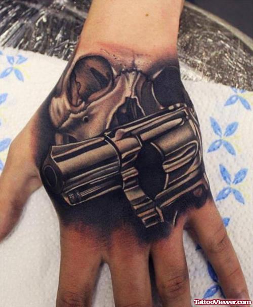 20 Gangsta Gun Tattoos Ideas And Designs