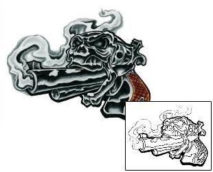 20 Gangster Gun Tattoos Design Ideas And Designs