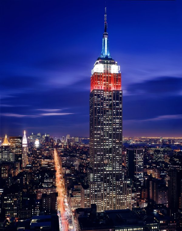 Adorable Empire State Building Manhattan Night View