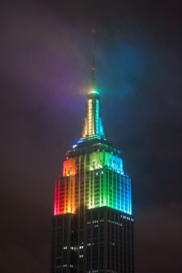 Empire State Building Lighting