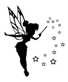 16+ Tinkerbell Silhouette Tattoos