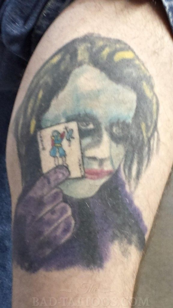 Joker Tattoo Designs Why So Serious