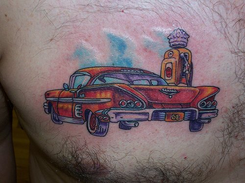 20 Memorial Tattoos Cars Ideas And Designs
