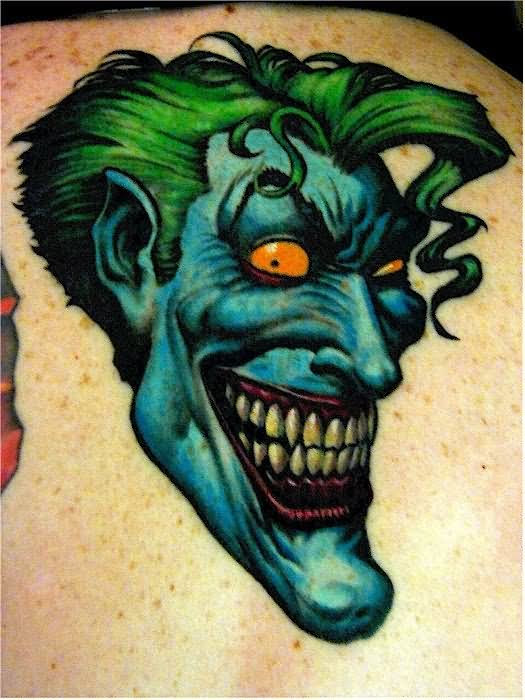 20 Jokers Face Eye Tattoos Ideas And Designs