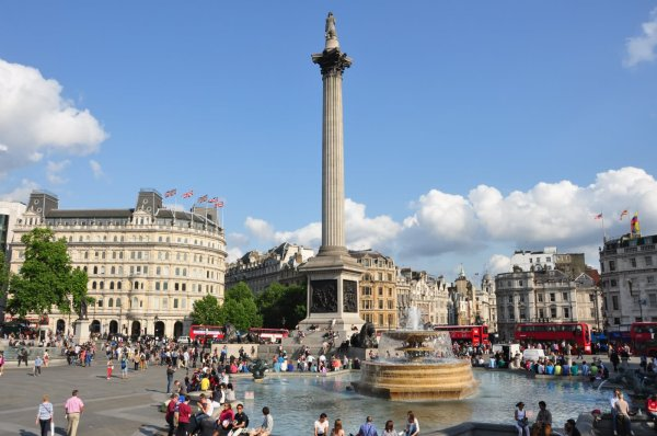 Beautiful Trafalgar Square London