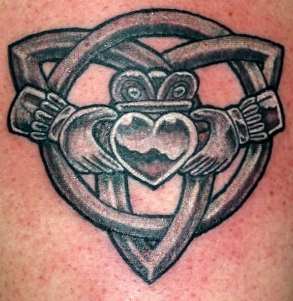 Claddagh Tattoos Back Ring