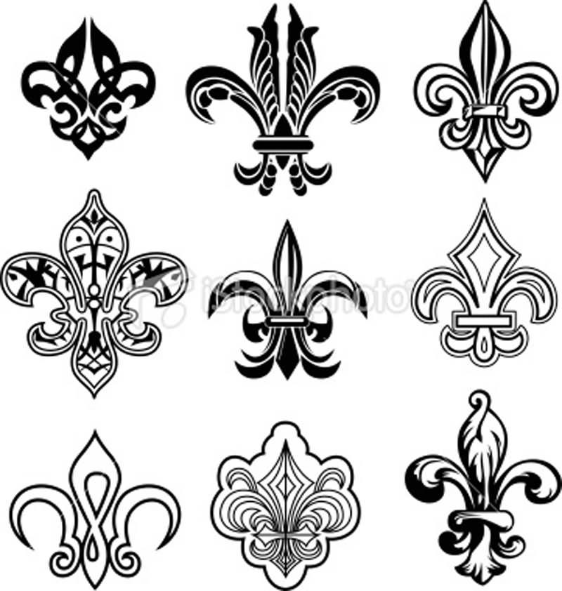 Fleur De Lis Tattoo Designs And Ideas