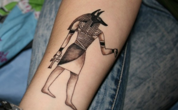 7 egyptian forearm tattoos