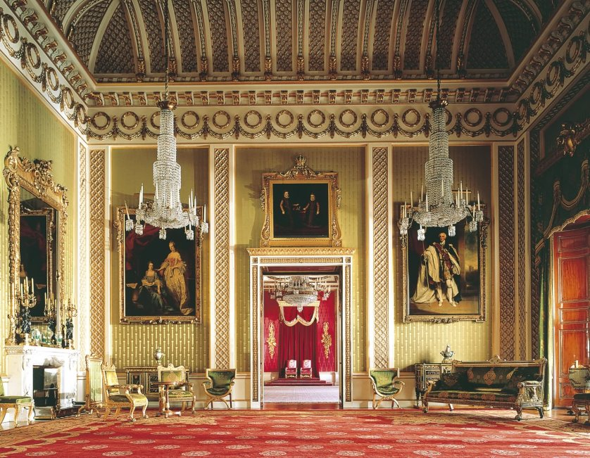 Interior View Of The Buckingham Palace1 - THE MOST BEAUTIFUL INTERIOR PICTURES OF BUCKINGHAM PALACE LONDON