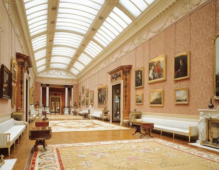Picture Gallery Inside The Buckingham Palace - THE MOST BEAUTIFUL INTERIOR PICTURES OF BUCKINGHAM PALACE LONDON