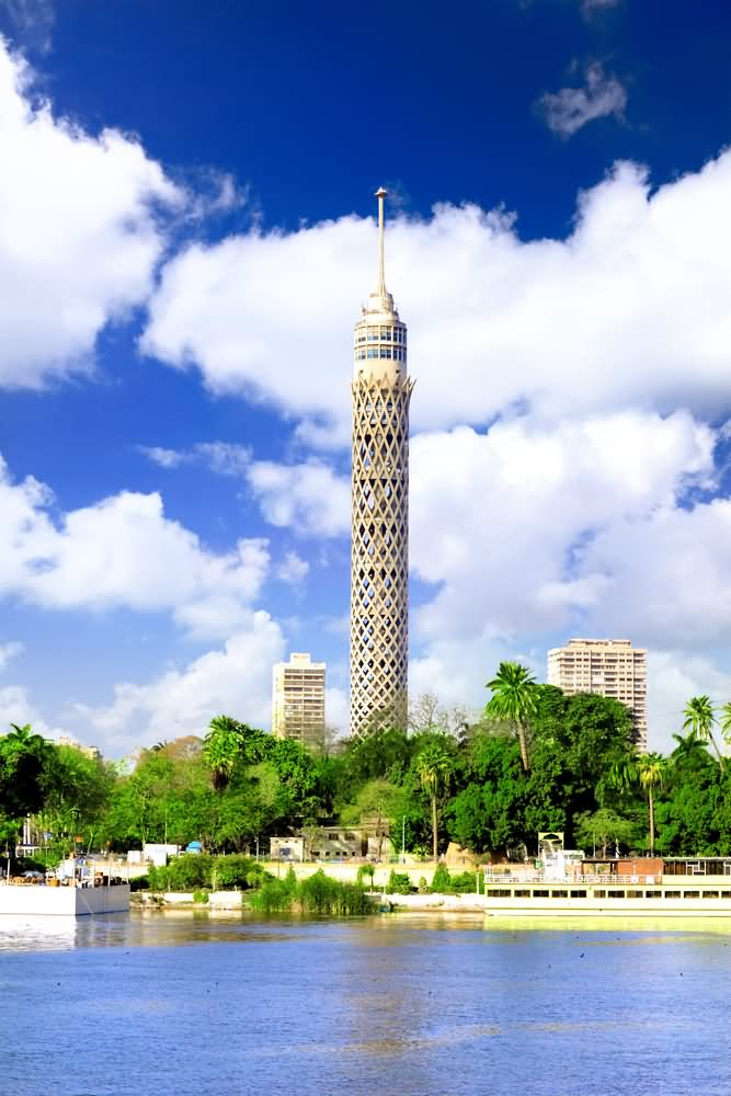11 Most Beautiful Sunset View Images Of Cairo Tower