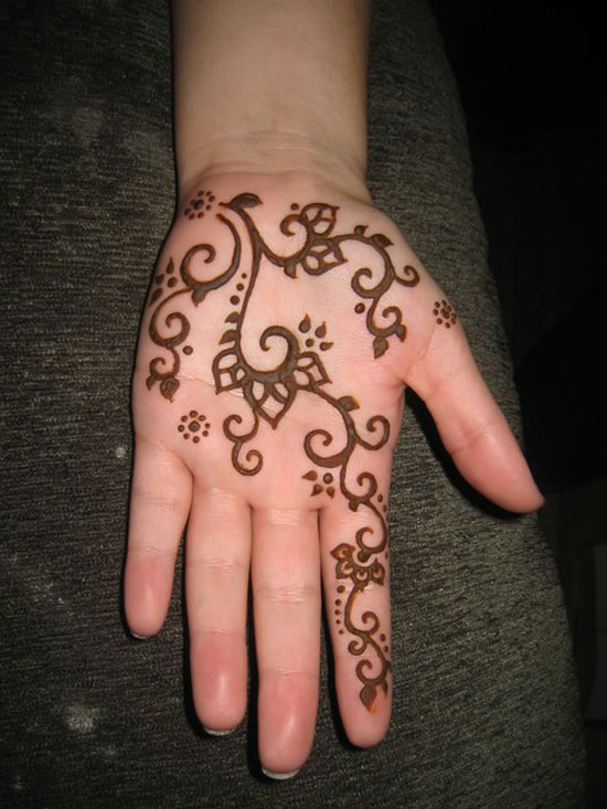 20 Black Hand Henna Tattoos Ideas And Designs