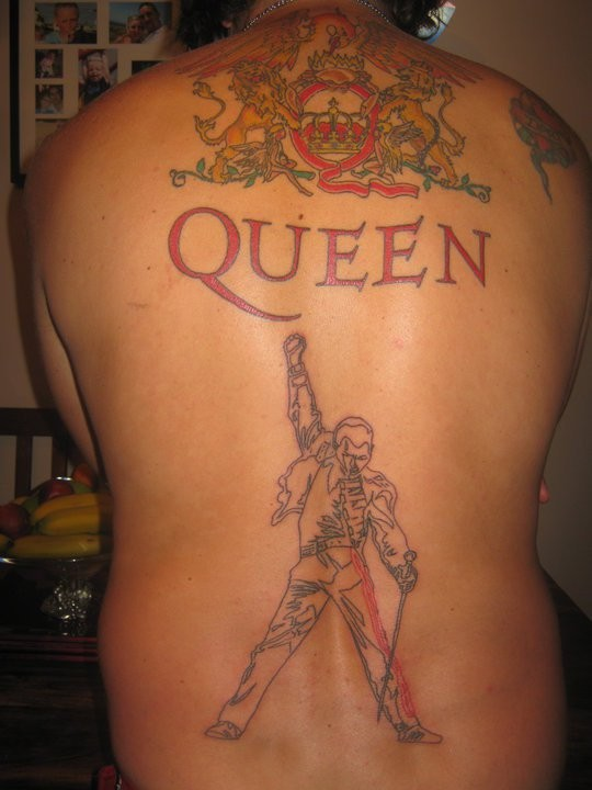 20 Queen Tattoos On Back Ideas And Designs