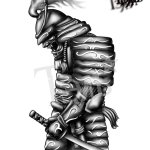Samurai Tattoo Design By Taldark