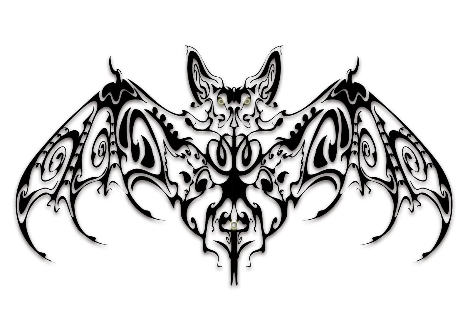 16 Vampire Bat Tattoo Design Ideas
