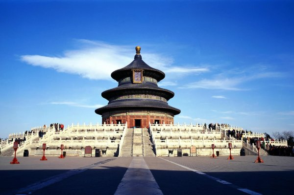 Beautiful And Of Temple Heaven In