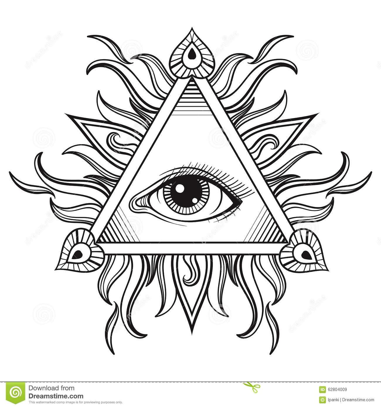 All Seeing Eye Pyramid Illuminati